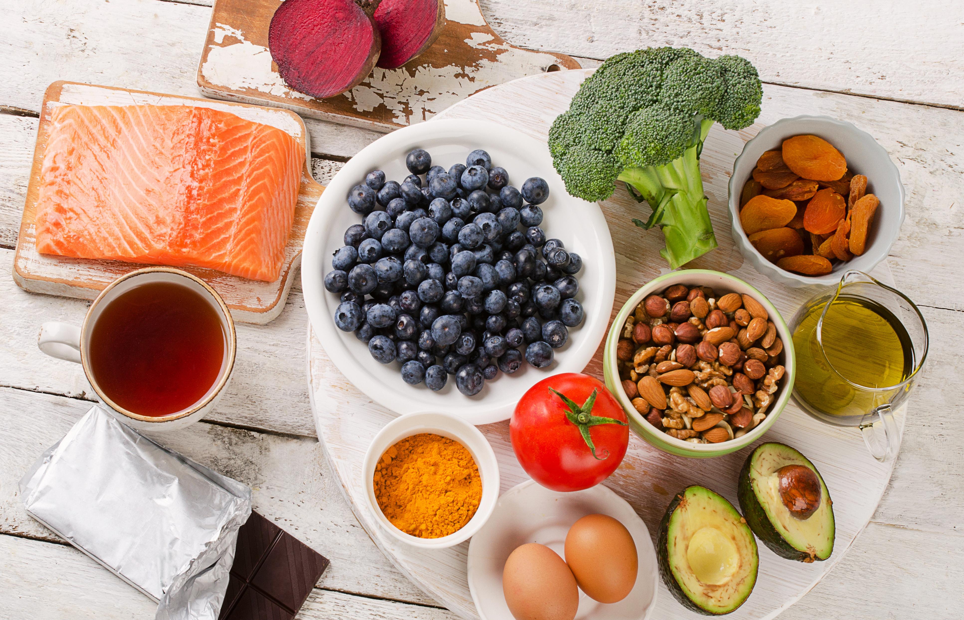 Brain Food. Lebensmittel die fit und schlau machen